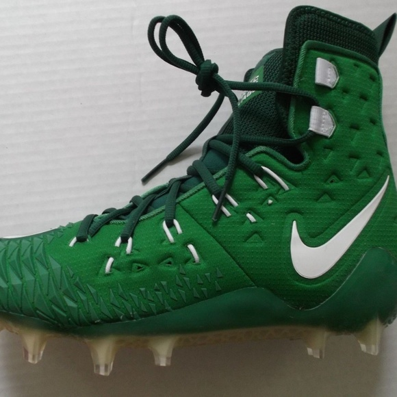 44d6d3f39ef Nike Force Savage Elite TD green cleats new in box